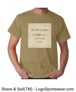 The Bill of Rights - Unisex Tan Design Zoom